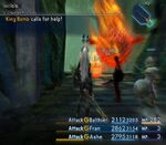 FFXII King Bomb Calls For Help