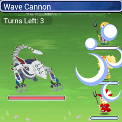 The Manasvin Warmech using Wave Cannon in <i><a href=