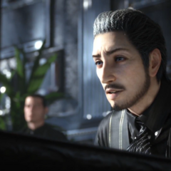 A younger Regis, as shown in the E3 2013 trailer for <i>Final Fantasy XV</i>.