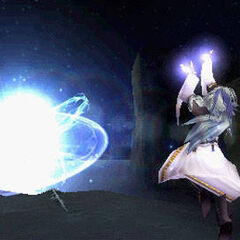 Kuja using Seraphic Star in <i><a href=
