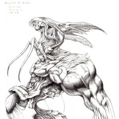 Bizarro Sephiroth.