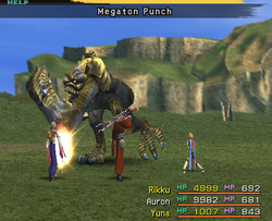FFX Megaton Punch