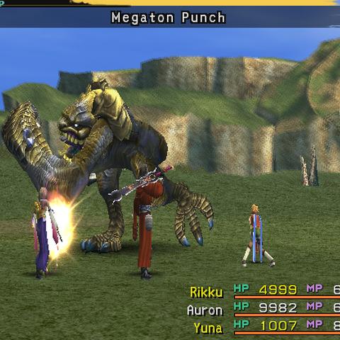 Megaton Punch.