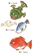 Eiko's Fish FFIX Art