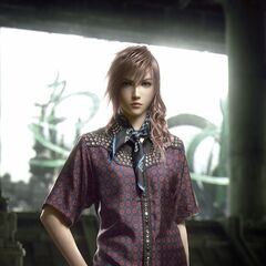 Lightning modelling a new outfit from the Prada 2012 Men's Spring/Summer Collection.