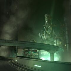 Sector 0 Highway in <i>Crisis Core -Final Fantasy VII-</i>.
