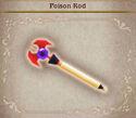 Bravely Default Poison Rod