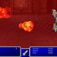 Fire VI from <i>Final Fantasy II</i> (iPod).