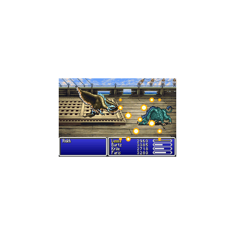 Demon's Eye in <i>Final Fantasy V</i>. (GBA)