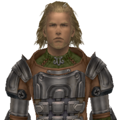 Basch as a knight of Dalmasca.