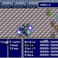 Warp reflected in-battle in <i><a href=