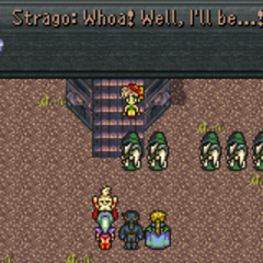 Strago joins in the World of Ruin (GBA).