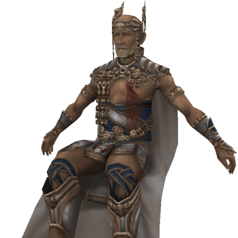 Raminas's in-game model.