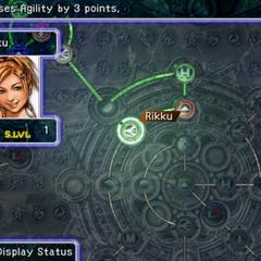 Rikku's Sphere Grid (PS2).