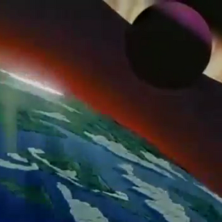 The Black Moon above Planet R.