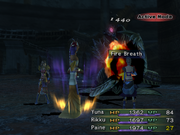 FFX-2 Flame Breath