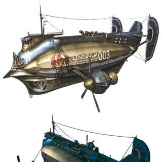 Lindblum freighters.
