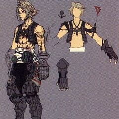 Concept art of alt outfit.