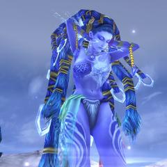 Shiva's victory pose.