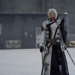 Ravus, as he appears in <i>Final Fantasy XV</i>.