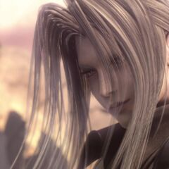 Sephiroth in <i>Advent Children</i>.