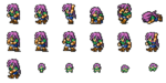 FFRK Faris Freelancer sprites