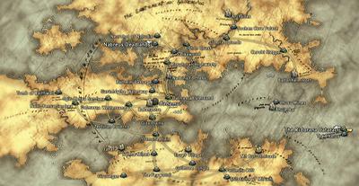 FFXII Airship World Map