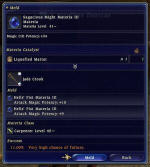 FFXIV Forbidden Materia