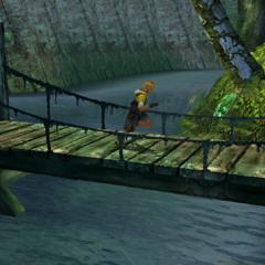 The bridge in <i>Final Fantasy X</i>.