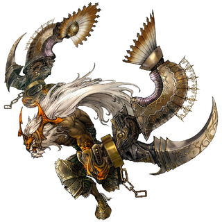Artwork from <i>Final Fantasy Tactics A2</i>.