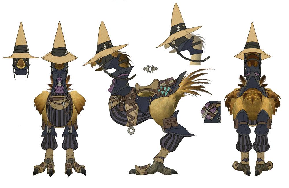 image black mage chocobo ffxivjpg final fantasy wiki