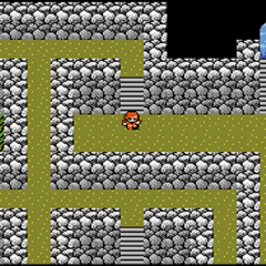 The japanese dungeon image for <i>Cave of Mysidia</i> in <i><a href=
