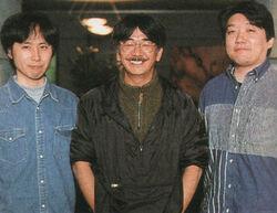 Junya Nakano, Nobuo Uematsu & Masashi Hamauzu