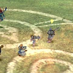 Black Waltz 2's attacks never hit Dagger.