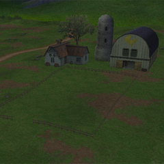 Farm as it appears in <i>Crisis Core -Final Fantasy VII-</i>.