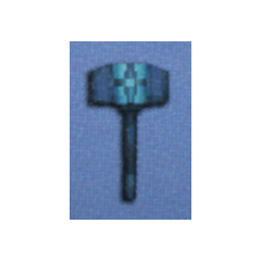 Mythril Hammer in <i>Final Fantasy IV</i> (DS).