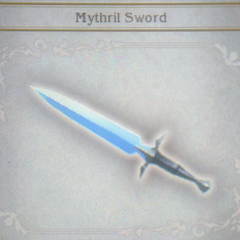 Mythril Sword in <i>Bravely Default</i>.