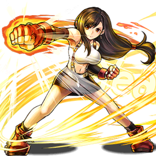 No. 3298 7th Heaven's Owner, Tifa.