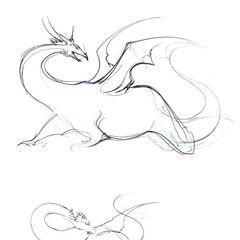 Sketches by Yoshitaka Amano.