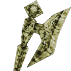 Crystal Golden Axe used by <a href=