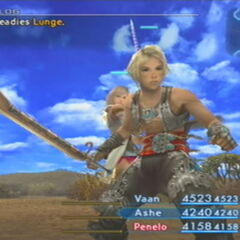 Mythril Sword in <i>Final Fantasy XII</i>.