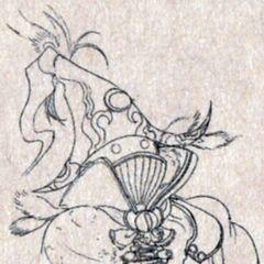Vivi Ornitier Sketch.
