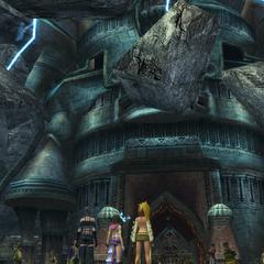 Djose Temple in <i>Final Fantasy X-2</i>.