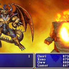 Blaze in the <i>20th Anniversary</i> version.