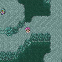 Abyssal Falls - Hall of Tranquility (GBA).