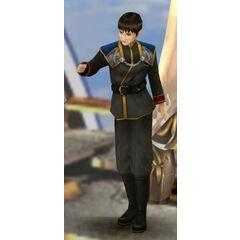 Nida in SeeD uniform.