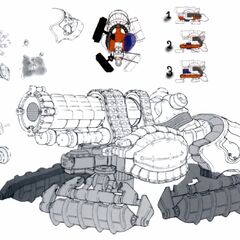 Concept Art of Crawler and Negator.