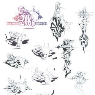 Logo sketches.