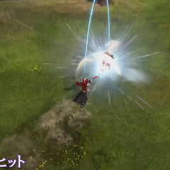 Multi-Hit while as a Ninja in <i><a href=