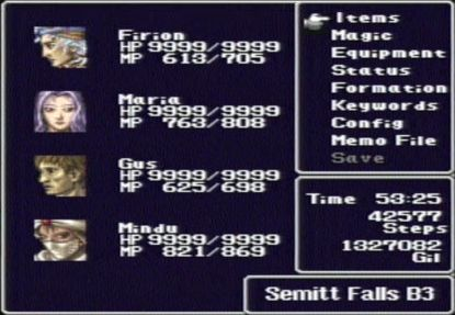 File:FF II menu screen.jpg